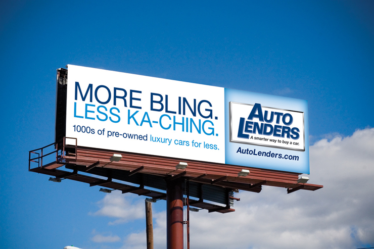Auto Lenders Outdoor Ad #1