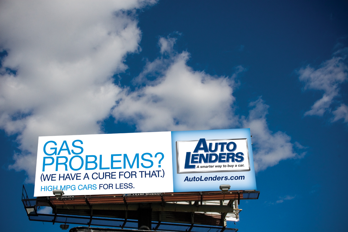 Auto Lenders Outdoor Ad #2
