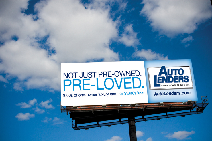 Auto Lenders Outdoor Ad #4