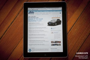 Auto Lenders Website, Developed with Nimblelight