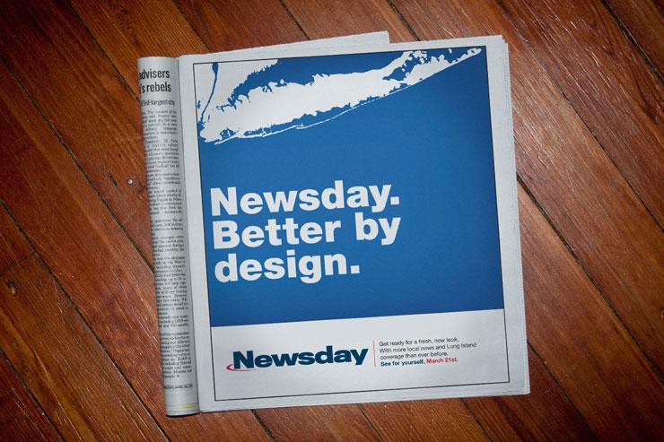 Newsday Print Advertisement #1