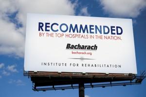 Bacharach Outdoor Advertisement