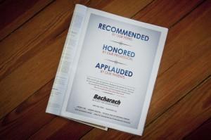 Bacharach Program Advertisement