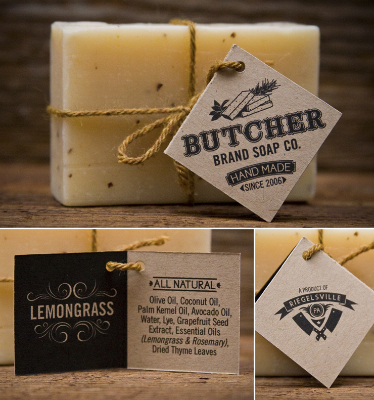Butcher Brand Soap Co. Identity