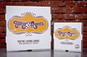 Tony Roni's Pizza Boxes