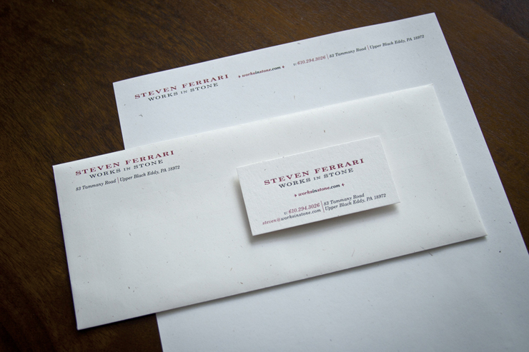 Steven Ferrari Works in Stone Stationery