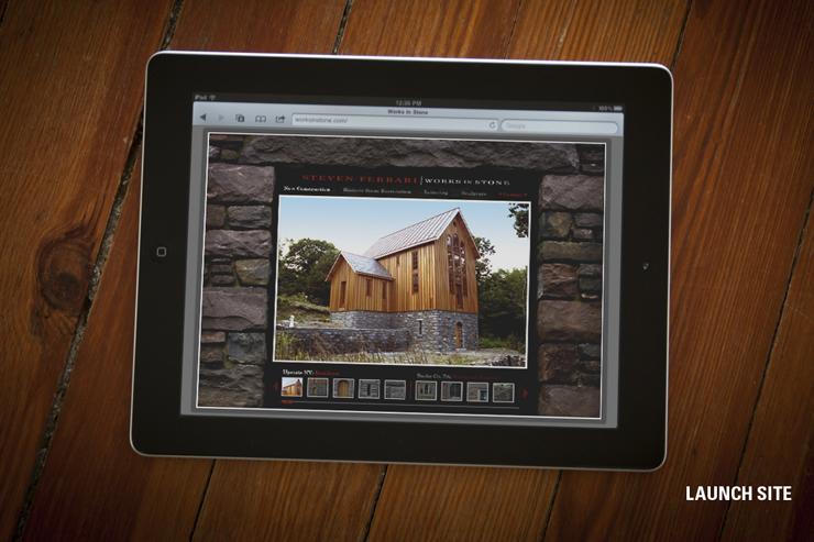 Steven Ferrari Works in Stone Website